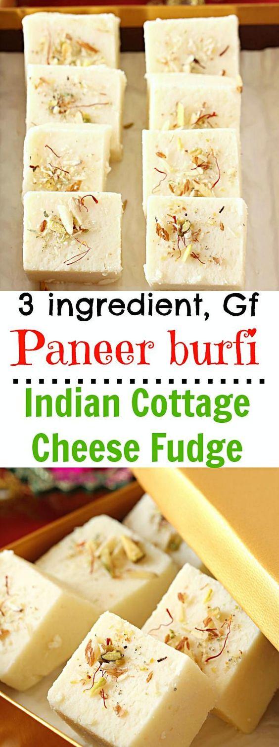 How to Make Paneer Burfi