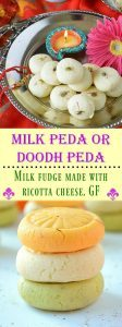 Milk Peda Recipe - Ruchiskitchen