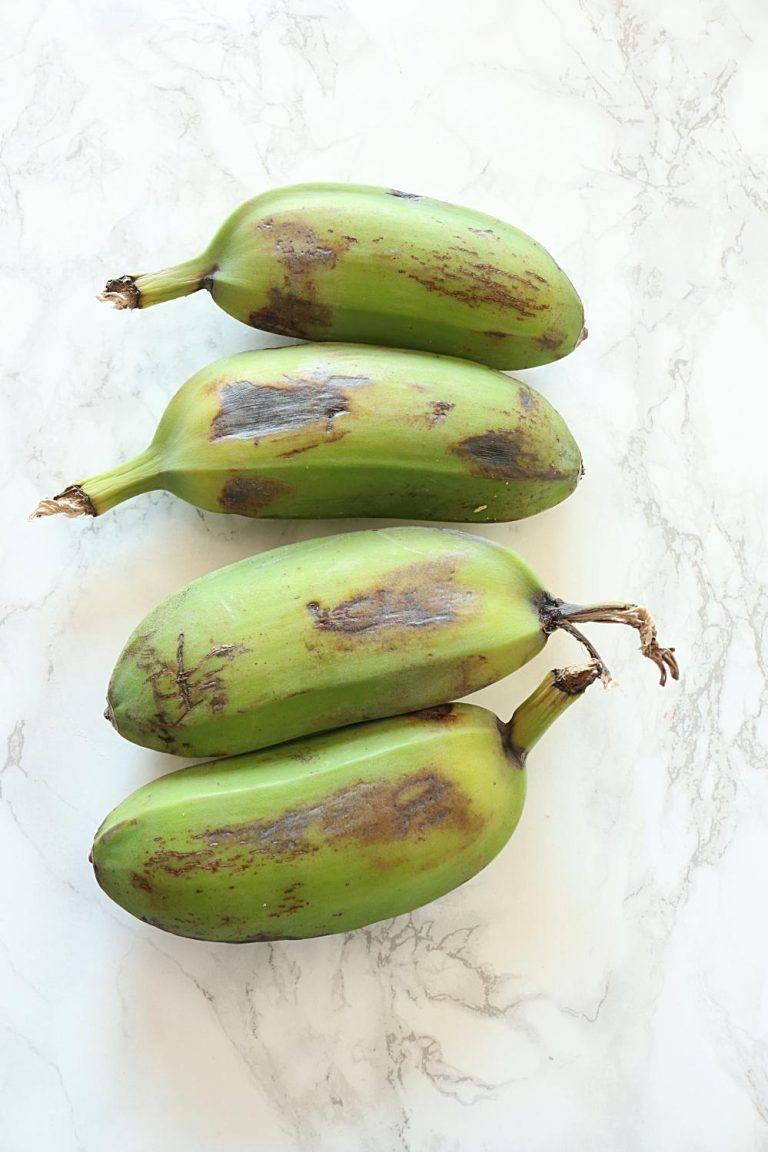 Kacche Kele Ki Tikki or Raw Bananas Kebab - Ruchiskitchen