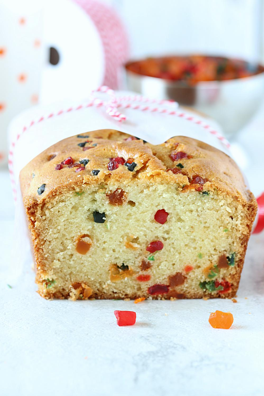 Vegan Tutti Frutti Cake
