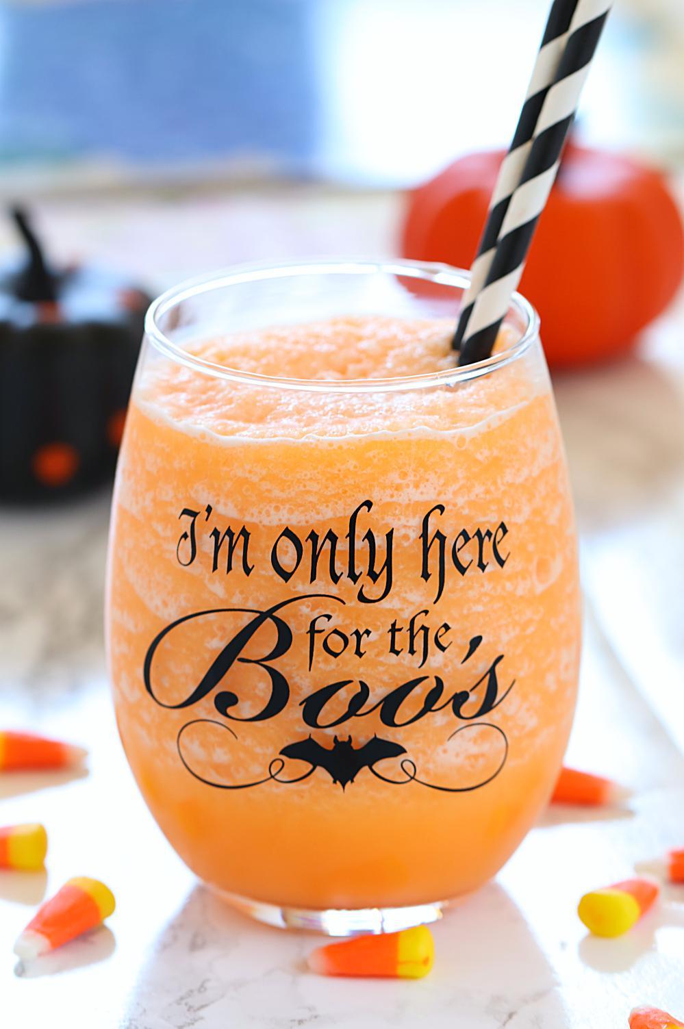 Halloween Orange Sherbet Punch- Ruchiskitchen