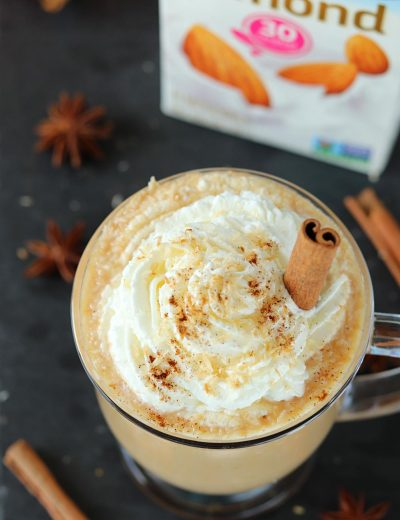 Toasted Coconut Pumpkin Spice Latte