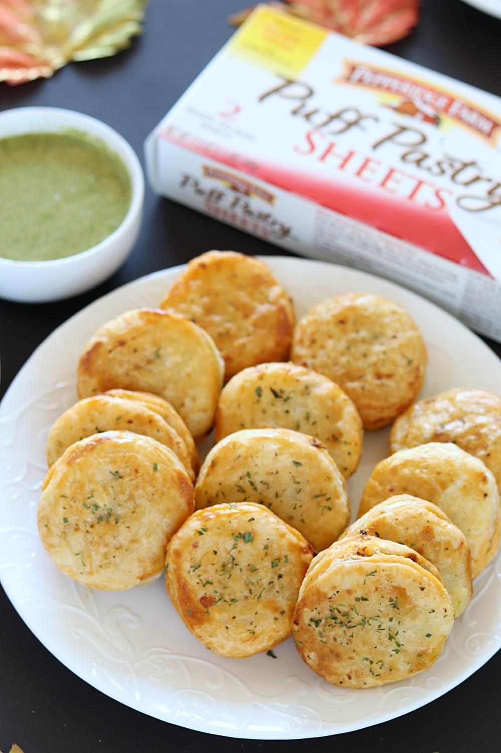 Minced Chicken Puffs Puff Pastry Snack Appetizer Recipes With Puff Pastry