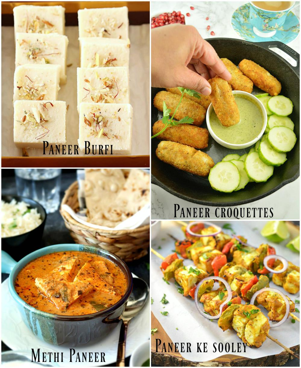 Yummy Paneer collection from Ruchiskitchen