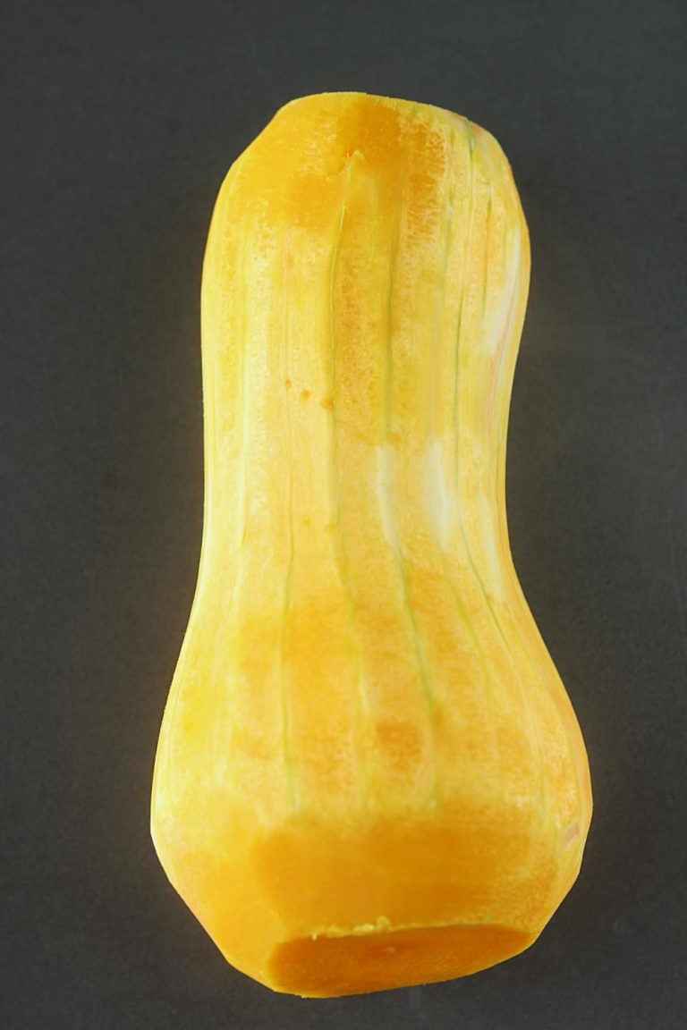 Peel the Butternut squash
