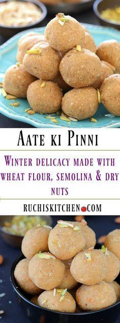 Aate-ki-pinni | Ruchiskitchen