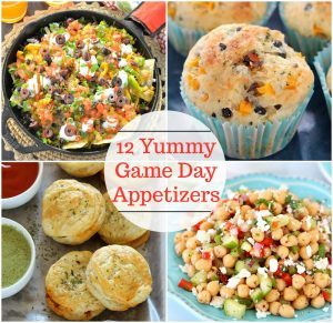 Collection of12 Yummy Game Day Appetizers - Ruchiskitchen