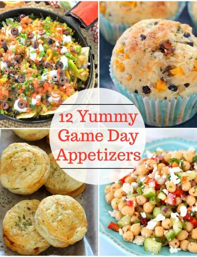 12 Yummy Game Day Appetizers