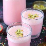 Gulkand Strawberry Milkshake