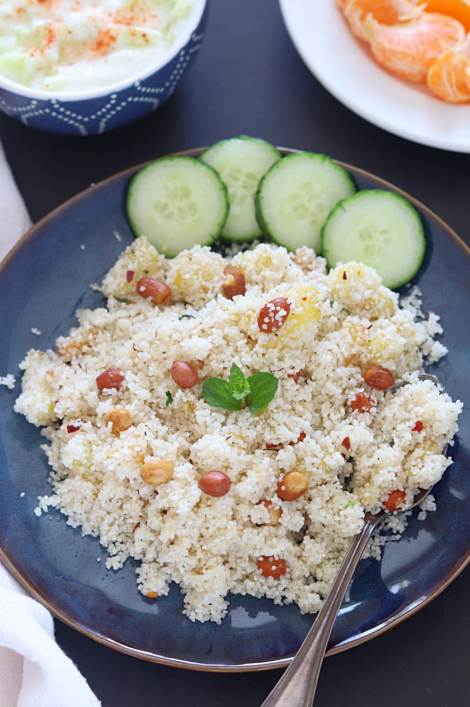 Vrat Rice Pulao, Sama chawal Pulao