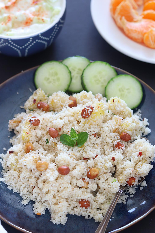Vrat Rice Pula or Sama Rice Pulao - Ruchiskitchen