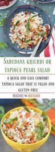 Tested and Tried Sabudana Khichdi - Ruchiskitchen