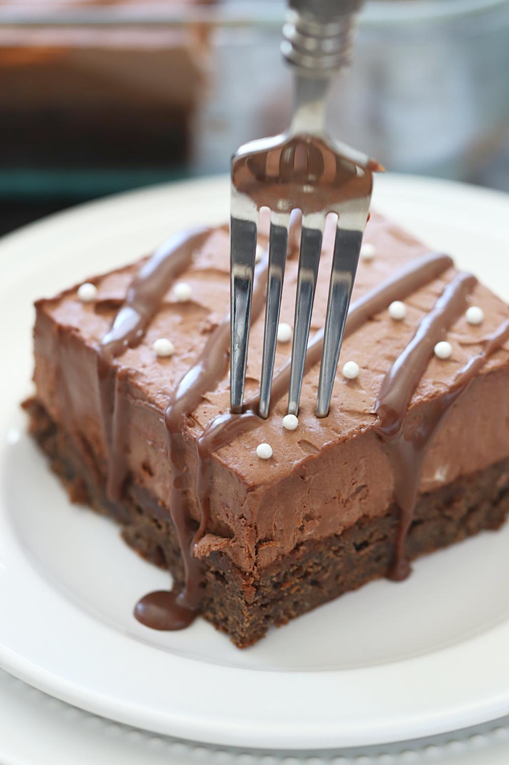 Eggless Chocolate Mousse Brownie, Eggless chocolate Brownies