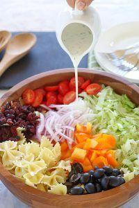 Cranberry Bowtie Pasta Salad - Ruchiskitchen