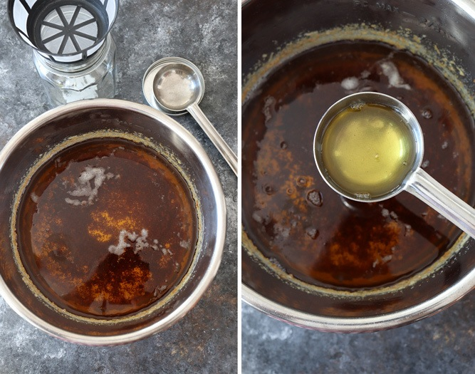 Ghee cooked in Instant Pot