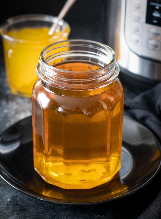 Strained Instant Pot ghee