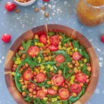 Roasted Chickpea And Arugula Salad