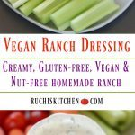 Vegan Ranch Dressing - Ruchiskitchen.com