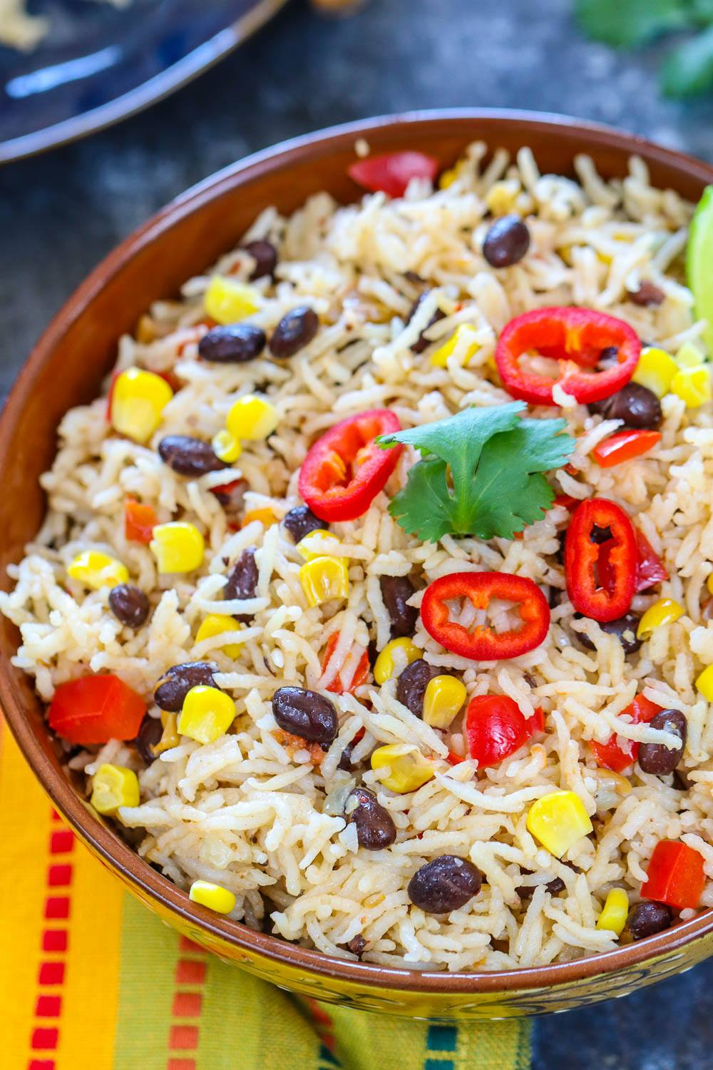 Instant Pot Rice | Ruchiskitchen.com
