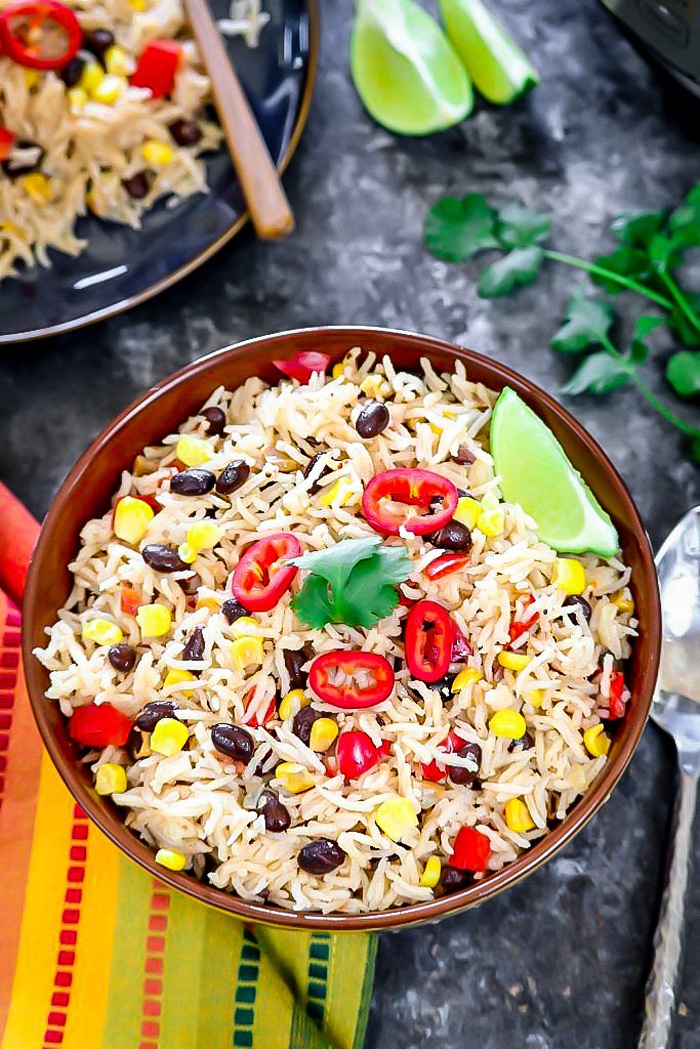 Instant Pot Mexican Fiesta Rice
