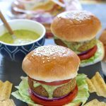 Green Vegetable Burger