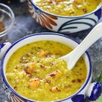 Instant Pot Broccoli Lentil Soup