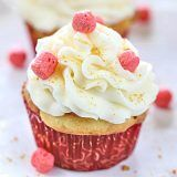 Strawberry Blonde Cupcakes - Ruchiskitchen