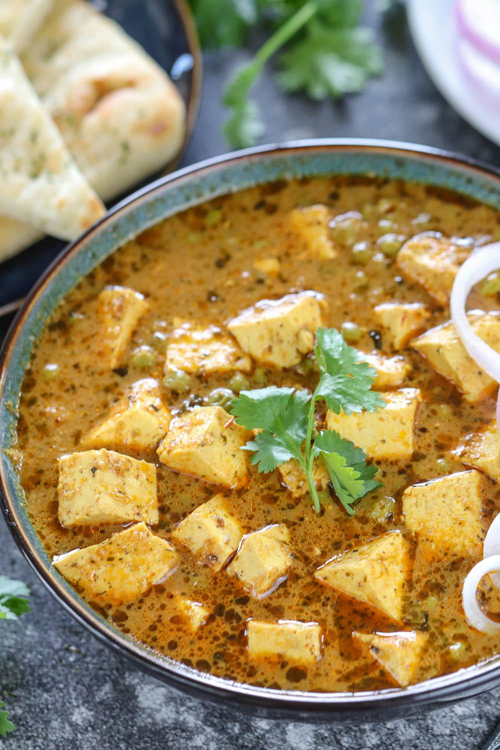Instant Pot Indian Matar Paneer - Ruchiskitchen