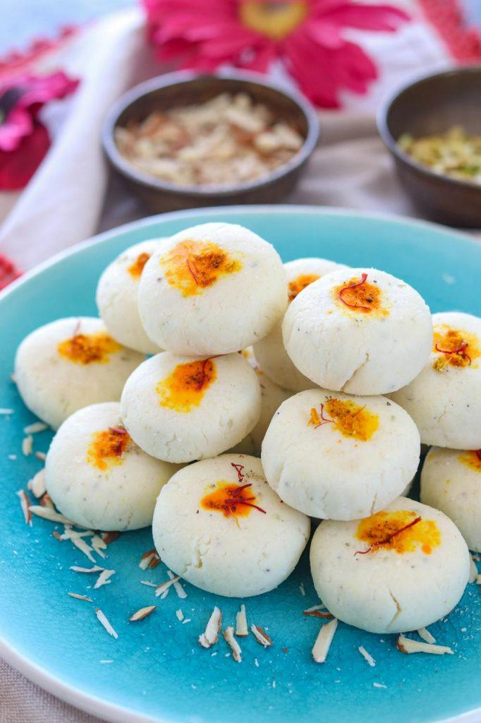 How to make coconut peda