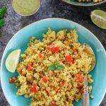 Instant Pot Vegetable Daliya