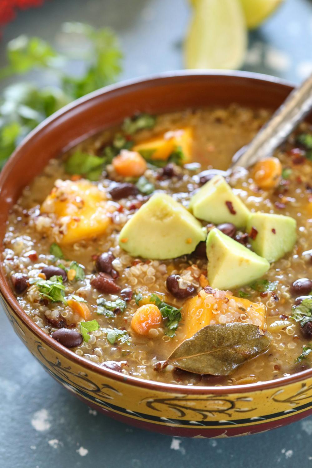 Instant Pot Butternut Squash And Quinoa Stew- Ruchiskitchen
