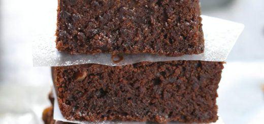 Double Chocolate Pecan Brownies - Ruchiskitchen