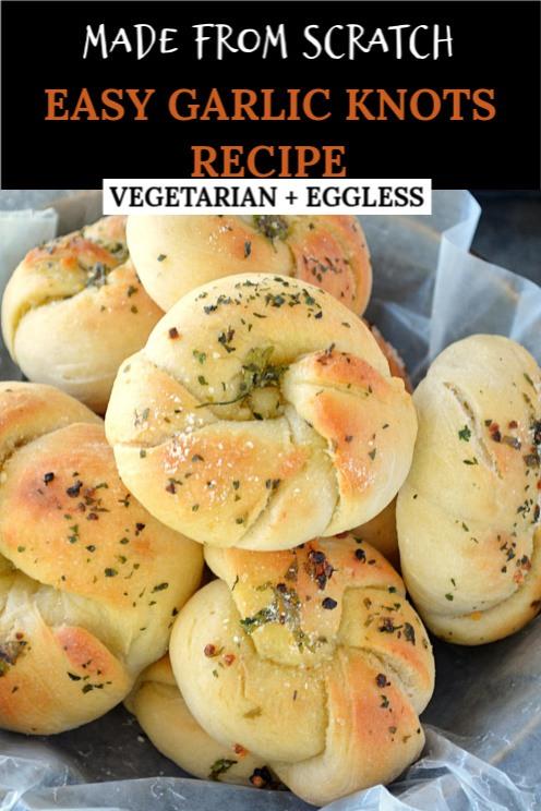 How to make Garlic knots