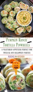 Pumpkin Ranch Tortilla Pinwheels - Ruchiskitchen