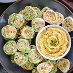 Pumpkin Ranch Tortilla Pinwheels