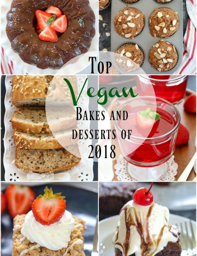 Top vegan Bakes and desserts of 2018- Ruchiskitchen