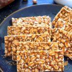Peanut Chikki or gajak