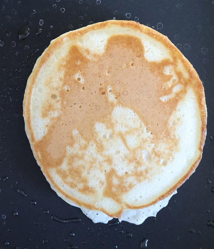 Coconut Banana Vegan Pancakes - Ruchiskitchen