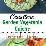 Crustless Veggie Quiche - Ruchiskitchen