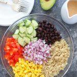 Healthy Quinoa and Bean Salad