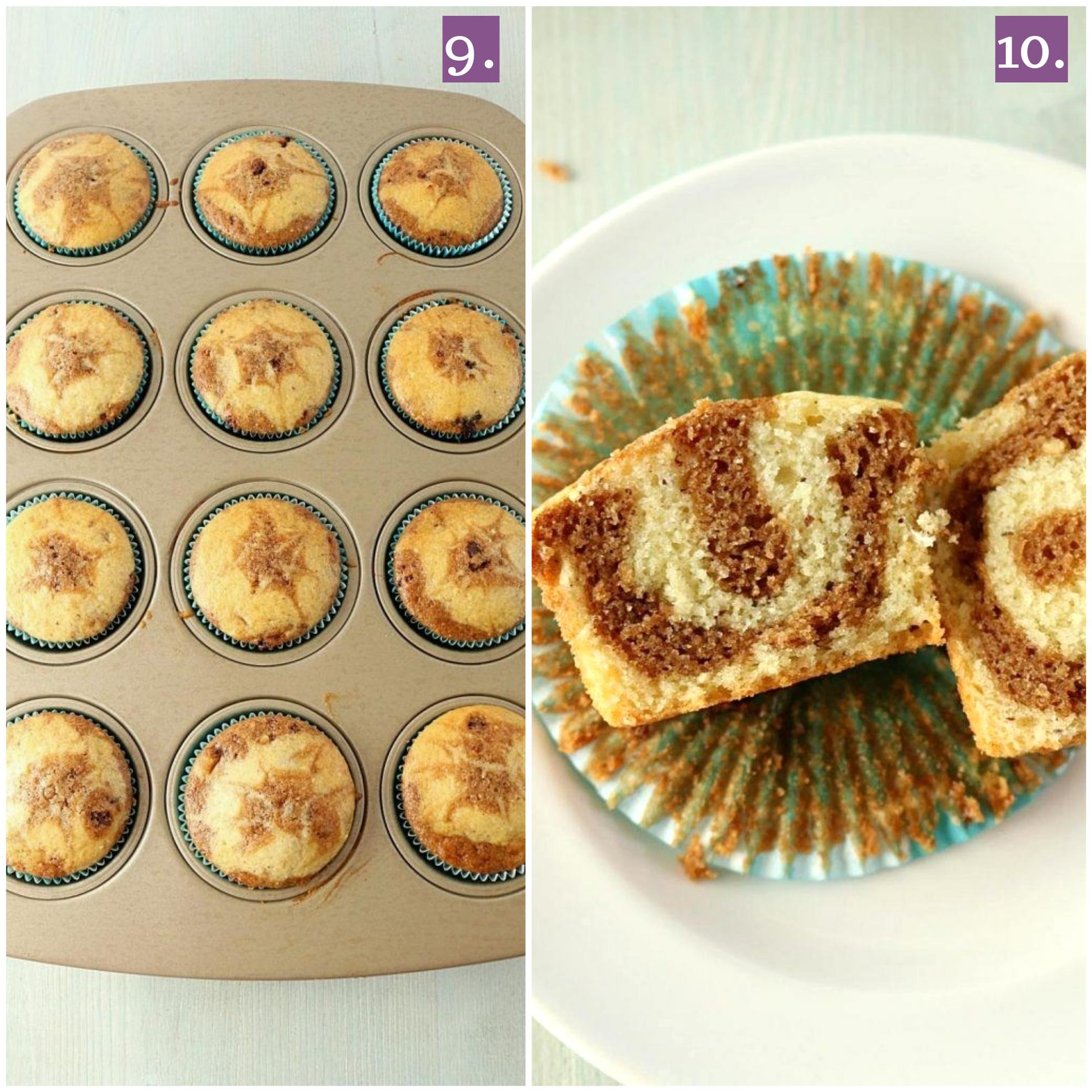 Baked cupcakes
