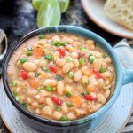 Instant Pot Vegan White Bean Soup
