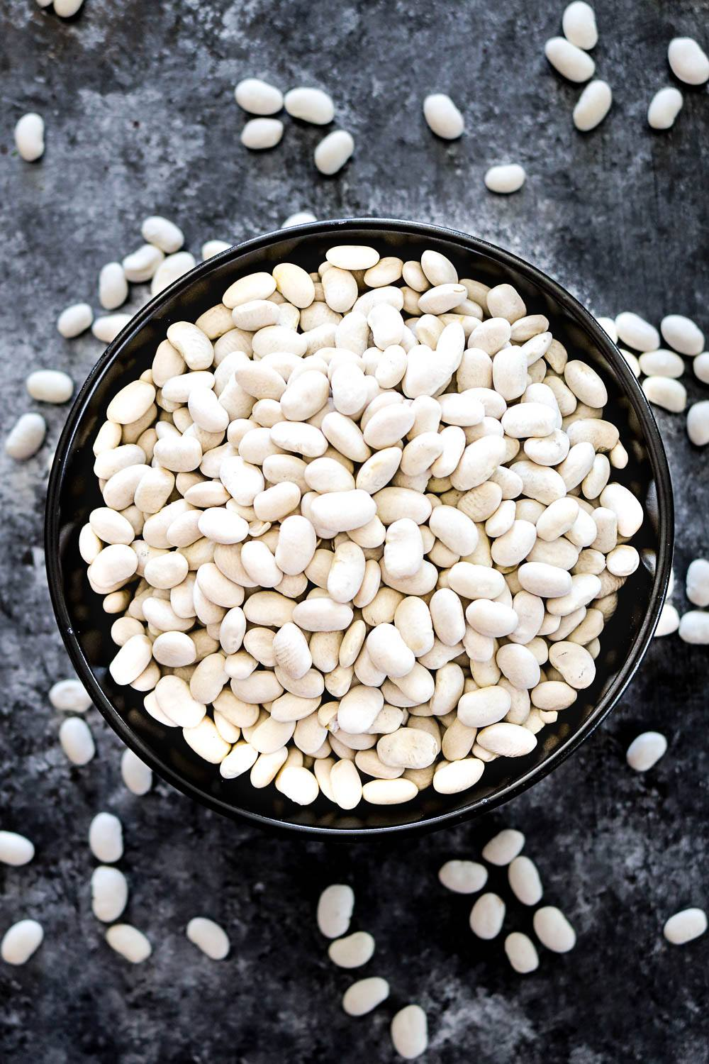 White Navy Beans - Ruchiskitchen