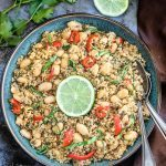 Instant Pot Coconut Quinoa And White Bean Salad - Ruchiskitchen