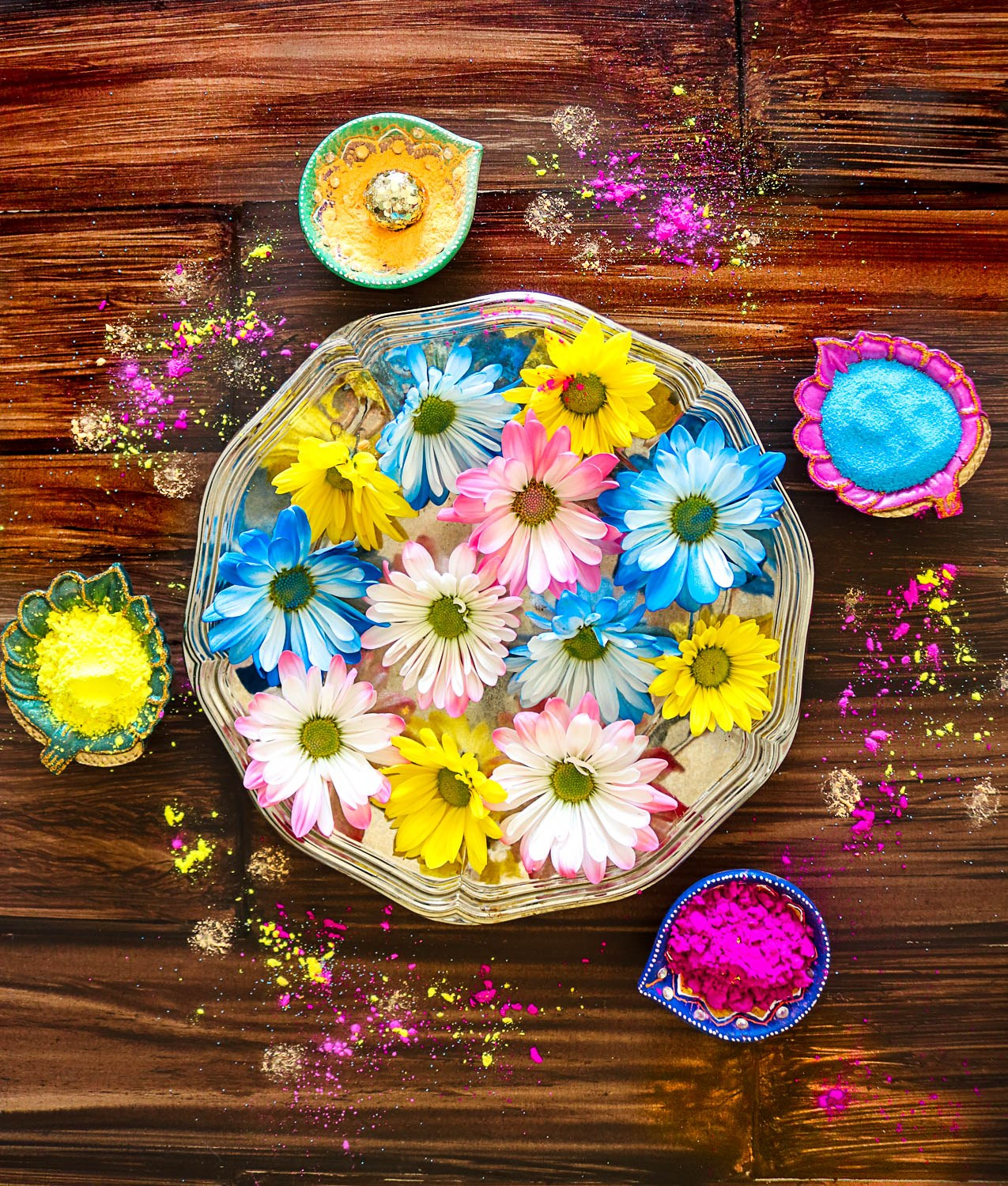 Happy Holi to All - Ruchiskitchen