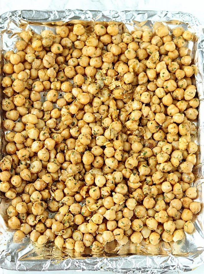 Seasoned Chickpeas