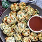 Tofu Scramble Breakfast Pinwheels
