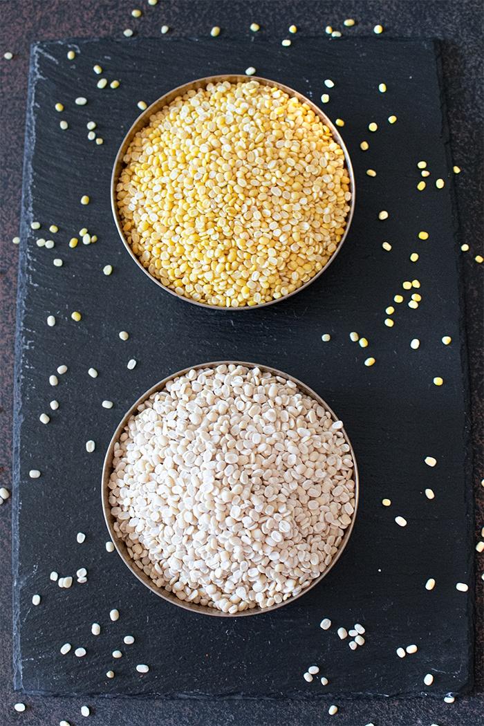 Lentils for Dahi bhalla recipe