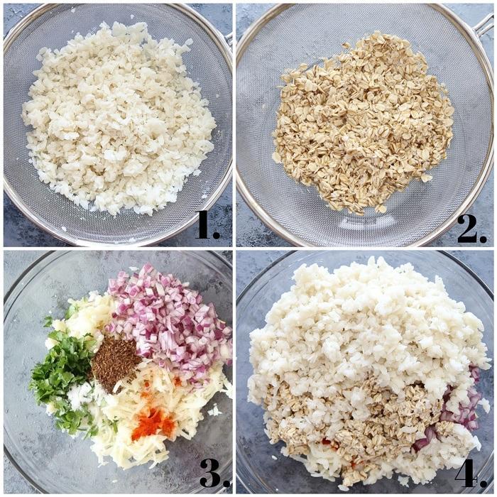 How to make Poha tikki