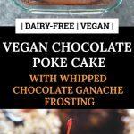 Vegan Chocolate Poke Pinterest Pin